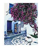 Картина по номерам Солнечная Греция (KH2168) 40 х 50 см Идейка, фото 3
