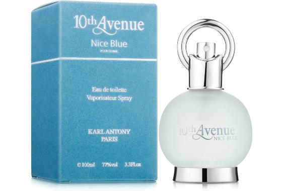 Karl Antony 10th Avenue Nice Blue Туалетная вода женская, 100 мл