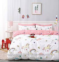 Комплект підліткового постільної білизни Bella Villa B-0220 сатин