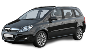 Авточехлы для Opel (Опель) Zafira B 2005-2013