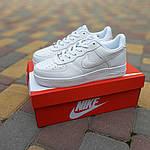 Чоловічі кросівки Nike Air Force (білі) 10308, фото 9