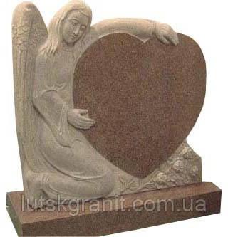 Виготовлення пам'ятників з капустянського граніту у Луцьку