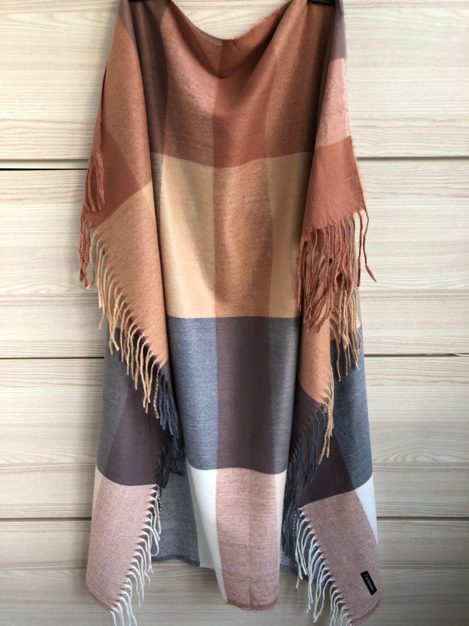 Кашемировый теплый платок Cashmere 213004