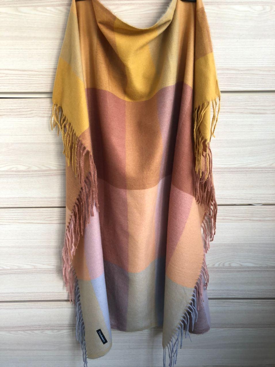Кашемировый теплый платок Cashmere 213006