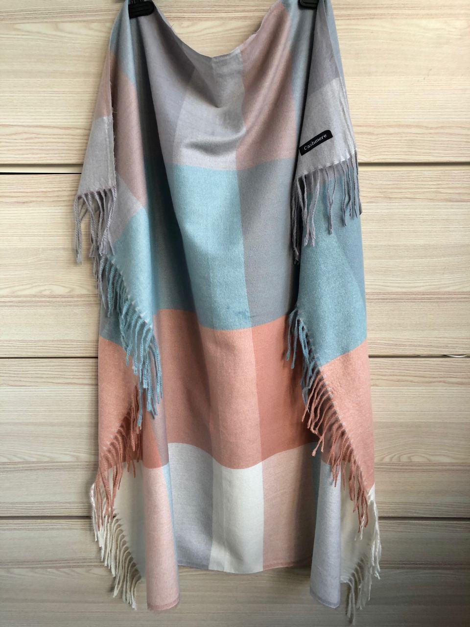 Кашемировый теплый платок Cashmere 213010