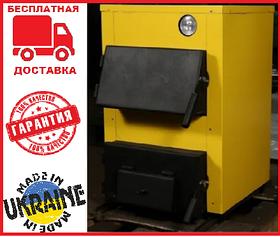 Бюджетный твердотопливный котел КОТВ 10/14 кВт