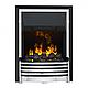 Каминокомплект IDaMebel Adele Белый Flagstaff эффект 3D пламени и дыма с увлажнением, фото 2