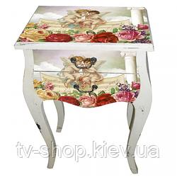 Столик с ящиками Ангелы 79,5х51х30 см