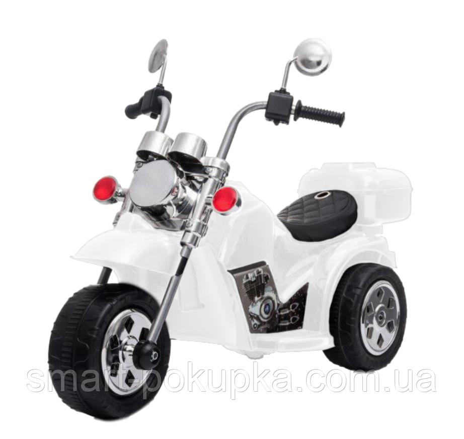 Ел-мобіль T-7230 WHITE мотоцикл 6V4.5AH мотор 1*18W 93*45*60 /1/