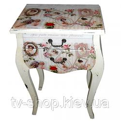 Столик с ящиками Винтаж 79,5х51х30 см