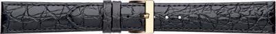 18 мм Кожаный Ремешок для часов CONDOR 612.18.01 Черный Ремешок на часы из Натуральной кожи