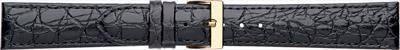 18 мм Кожаный Ремешок для часов CONDOR 612.18.01 Черный Ремешок на часы из Натуральной кожи, фото 2