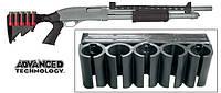 Патронташ пластиковый для 5 гладкоствольных патронов ATI