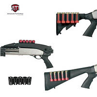 Пластиковый патронташ на приклад ATI ShotShell Holder, на 5 патронов 12 калибра