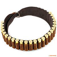 Патронташ для ружья 20 калибра Artipel, кожаный, на 30 патронов