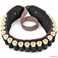 Пояс-патронташ 12 калибр Seeland Cartridge belt, зеленый, цвет: Olive/Khaki