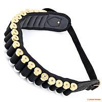 Пояс-патронташ 12 калибр Seeland Cartridge belt, неорен, на 20 патронов