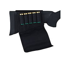Патронташ на приклад Uncle Mike's Buttstock Shell Holders Flap, 5 патронов