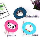 Силіконова USB підставка для чашки з підігрівом Coaster Pad (під чашку кухоль) Chinchilla синя, фото 5