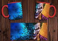 """Чашка """"Джокер"""" / Кружка Joker №7 Красный"""