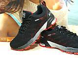 Кроссовки женские BaaS Marathon - 21 черно-красные 36 р., фото 4