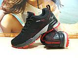 Кроссовки женские BaaS Marathon - 21 черно-красные 36 р., фото 5
