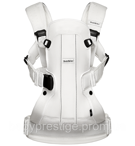 Рюкзак-кенгуру Babybjorn We Air white mesh. Новинка 2016