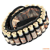 Патронташ открытый Волмас, для 24 гладкоствольных патронов, цвет: Камыш