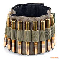 Патронташ на руку Blackwood, для 12 нарезных патронов, оливковый