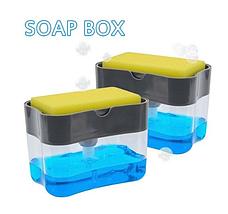 Дозатор Мыла Soap Pump Sponge Caddy, фото 2