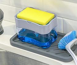 Дозатор Мыла Soap Pump Sponge Caddy, фото 3