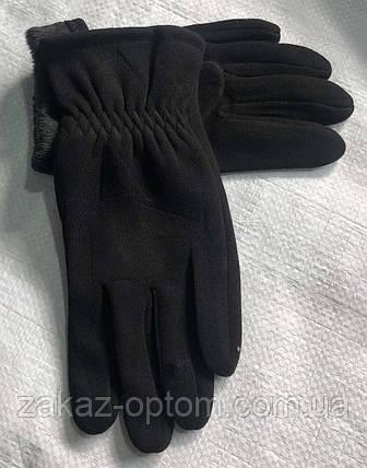 Перчатки мужские оптом внутри начес (10-12)Китай-63090, фото 2