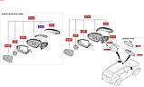 Повторитель поворотов зеркала левый киа Спортейдж 4, KIA Sportage 2016-18 QLs, 87614f1000, фото 4