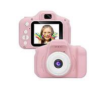 Дитячий фотоапарат  Рожевий