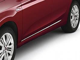 Fiat Tipo 2016↗ рр. Молдинг дверний (4 шт, нерж)