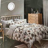 Евро комплект постельное белье фланель-байка Колоко Европейка
