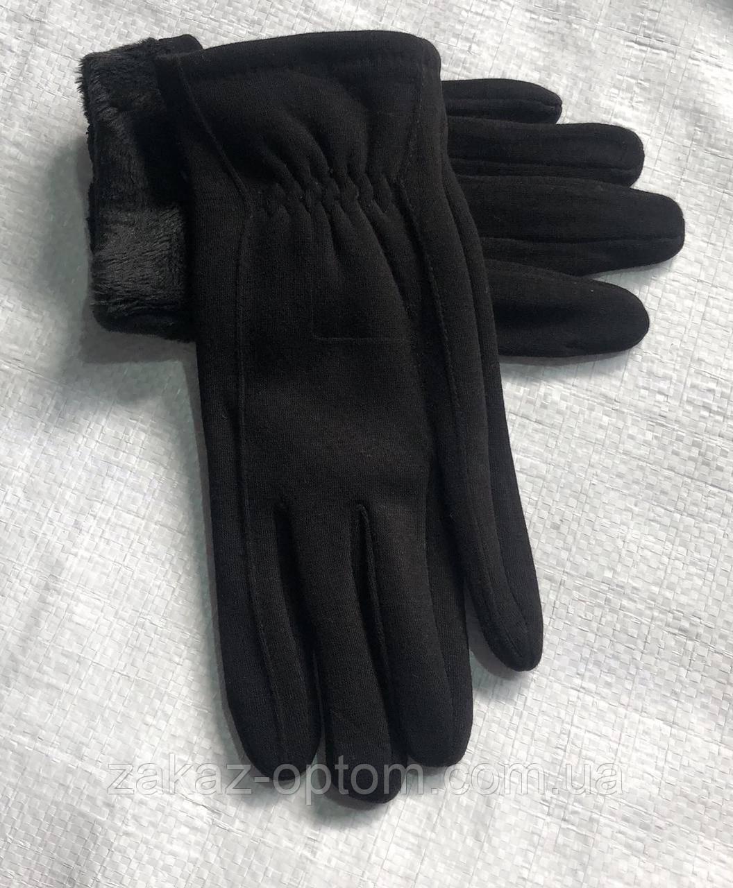 Перчатки мужские оптом внутри начес (10-12)Китай-63091