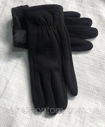 Перчатки мужские оптом внутри начес (10-12)Китай-63091, фото 2