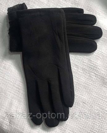 Перчатки мужские оптом внутри начес (10-12)Китай-63093, фото 2