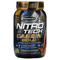 Казеиновый протеин MuscleTech Nitro-Tech Casein Gold 1150 г