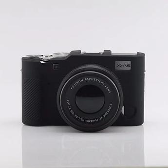 Захисний силіконовий чохол для фотокамери FujiFilm X-A5, X-A10 - чорний