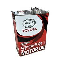 Моторное масло Toyota Motor Oil SP 0W-20 4л
