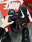 Мужские кроссовки Nike Air Max Uptеmpo BLACK Winter (черные) 259PL, фото 3