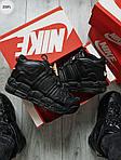 Мужские кроссовки Nike Air Max Uptеmpo BLACK Winter (черные) 259PL, фото 5