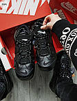 Мужские кроссовки Nike Air Max Uptеmpo BLACK Winter (черные) 259PL, фото 6