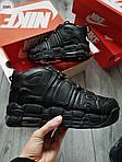 Мужские кроссовки Nike Air Max Uptеmpo BLACK Winter (черные) 259PL, фото 7