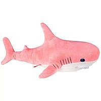 Большая мягкая игрушка Акула 100 см коралловая (лососевая) Fancy AKL3L