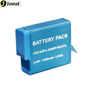Аккумулятор AHDBT-801 - аналог AJBAT-001 для GoPro Hero 5, 6, 7, 8 на 1260 ma