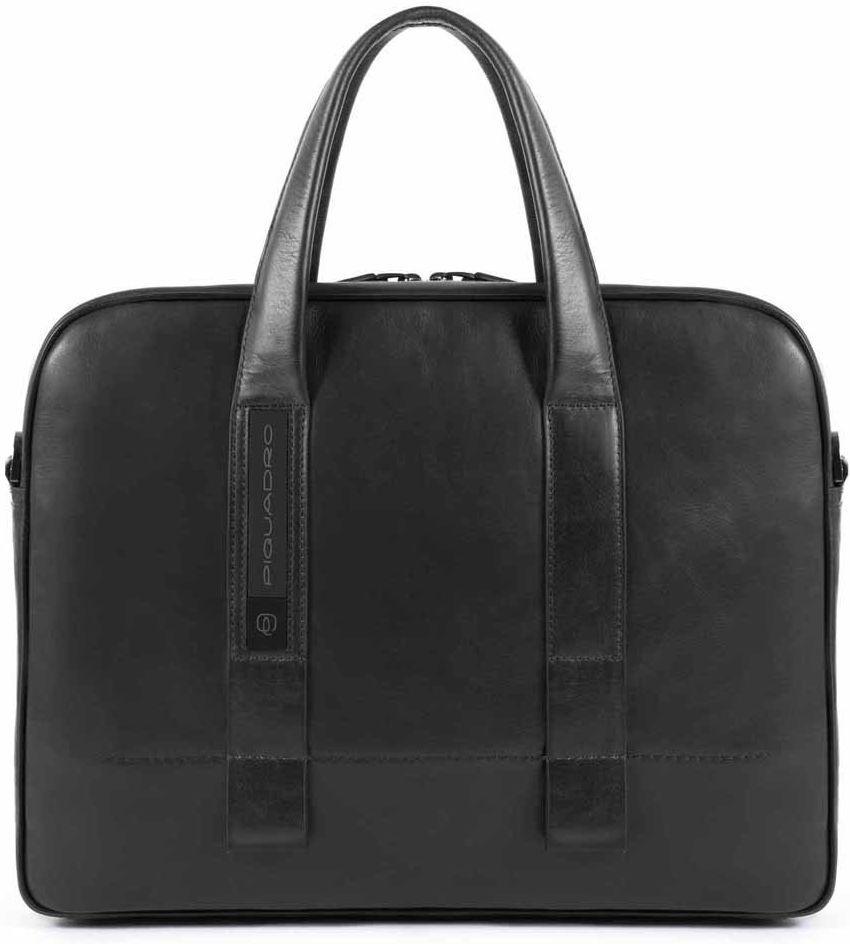 Кожаный портфель Piquadro Febo черный