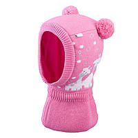 Зимняя шапка-шлем для девочки  TuTu арт. 3-005219 (42-46, 46-50), фото 1